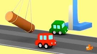 SORGFÄLTIGE AUTOS! - Auto Cartoons für Kinder - Cartoon-Zusammenstellungen für Kinder - Videos für Kinder