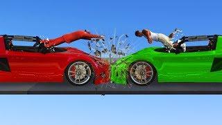 MOST BRUTAL ROCKET CAR COLLISION! (GTA Funny Moments)