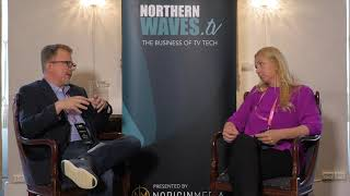 Northern Waves TV 2019 - Interview with Tine Jensen | Discovery Networks Norway