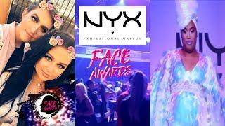 NYX FACE AWARDS VLOG 2017
