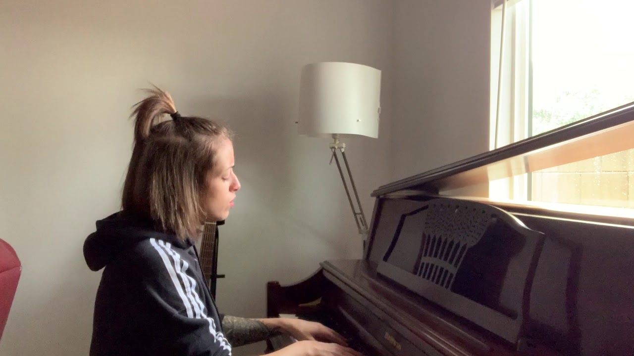 Drowning - Anna Clendening (ONE TAKE PIANO COVER)