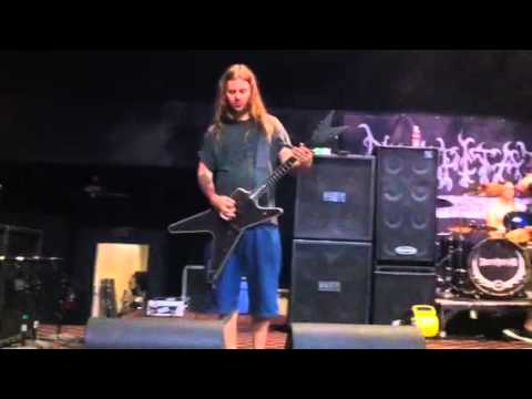 DECAPITATED - Sound Check (2011 North American Tour)