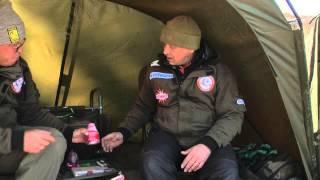 Алексей Фадеев - ловля сазана в Астрахани осенью. База Два Пескаря