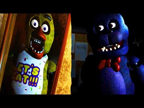 FIVE NIGHTS AT FREDDYS IN REAL LIFE?! | Vive Nights at Freddys (Five Nights at Freddys VR))