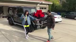 Logic surprises Jess with a new car for Christmas