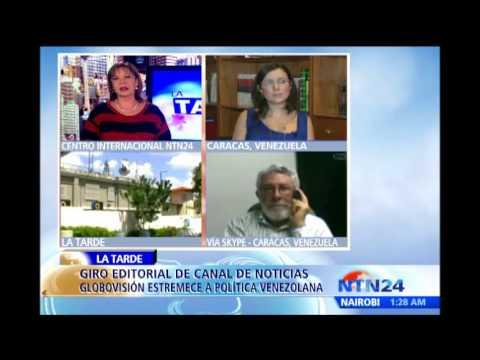"""""""No me siento identificada con la nueva línea editorial de Globovisión"""": Carla Angola"""