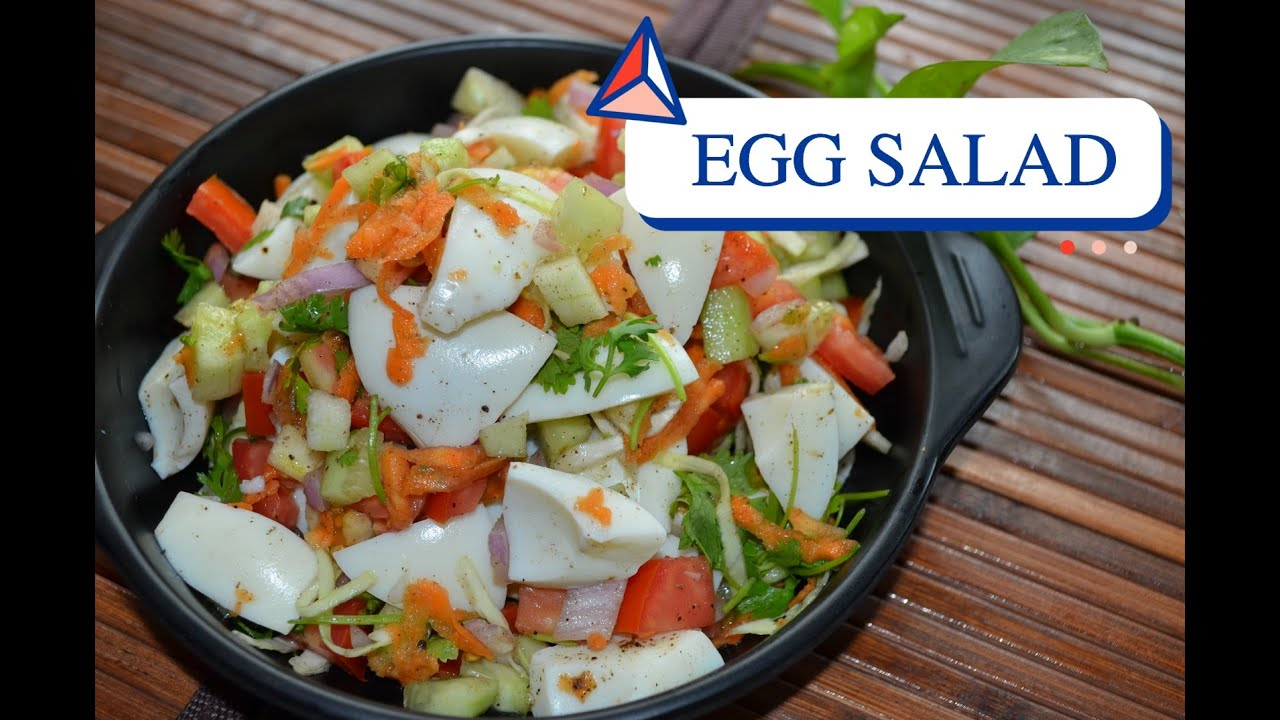 High Protein Egg White Salad Recipe Healthy Recipe Egg Recipe For Weight Loss Youtube