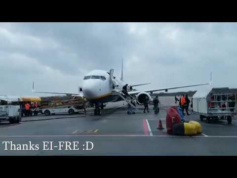 ᴴᴰ✈Madrid To Eindhoven✈B737-800✈RYANAIR Full Flight