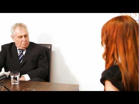 Miloš Zeman odpovídá na osobní otázky v rozhovoru pro Volba-Prezidenta.CZ