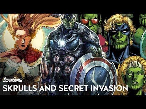Avengers: Secret Invasion and Skrulls Explained in Hindi | SuperSuper