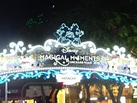 Christmas Lights 2018 - Orchard Road, Singapore