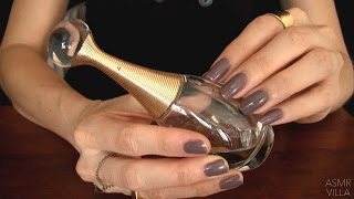 ASMR * Tapping & Scratching * Theme: Perfume Bottles * Fast Tapping * No Talking * ASMRVilla