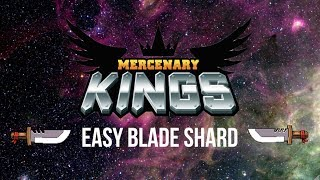agp quicktips mercenary kings easy blade shard in 15 seconds