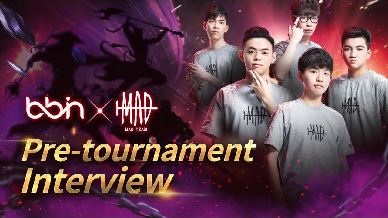 BBIN x MAD 2021 AWC世界盃賽前訪問  Pre-tournament Interview