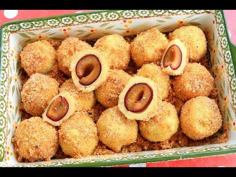 Knedle sa šljivama - Gomboce - Škola kuvanja - How to make plum dumplings