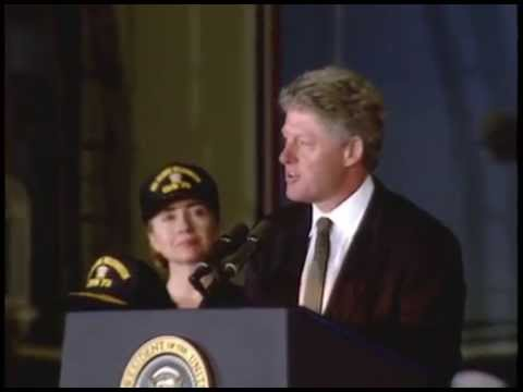 Pres. Clinton's Remarks Aboard the U.S.S. George Washington (1994)