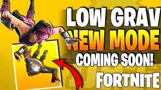 *NEW* Fortnite NEWS - Leaked New Game Modes - Low Gravity & More - New Weapon & New Gear Details