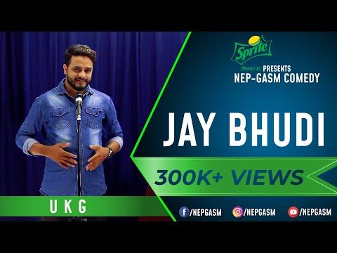 Jay Bhudi   Nepali Stand-Up Comedy   UKG   Nep-Gasm Comedy