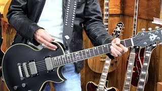 NAMM '17 - Prestige Guitars Rex Brown Signature Model Demo