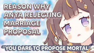 Reason why Anya always rejecting chat Marriage proposal !!!!!