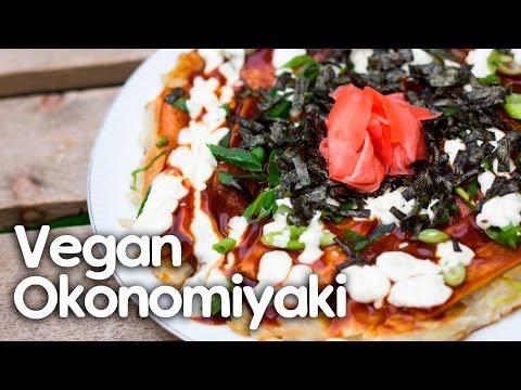 Vegan Okonomiyaki Recipe – Japanese Cooking Series