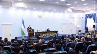 Президент Узбекистана посетил Юнусабадский район Ташкента (26.10.2018г.