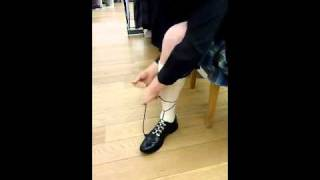 How to tie Ghillie Brogue Laces