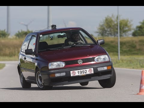 VW Golf Mk3 CL TRACKTEST