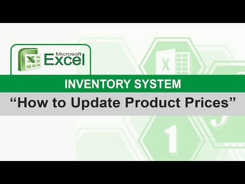 Update Product Prices w/o Losing the Old Price Records ( EXCEL INVENTORY )