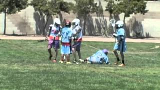 hard lacrosse hits u13 best coast