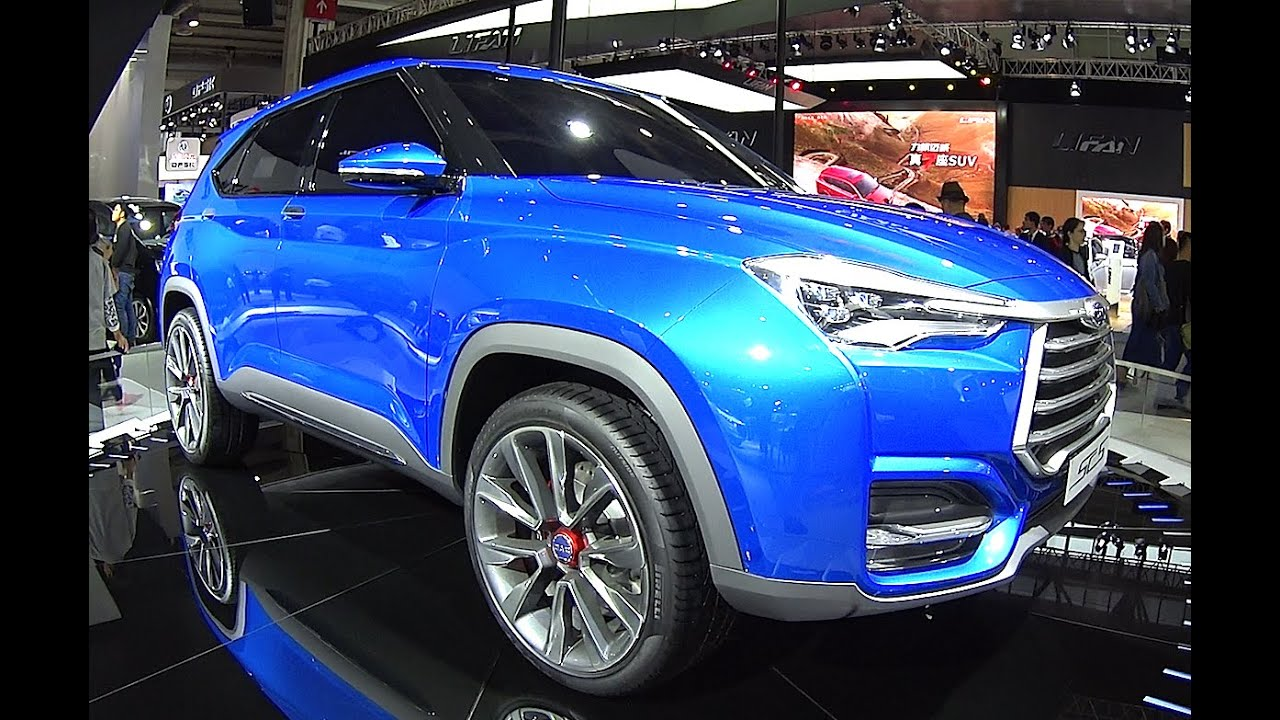 Jac Sc Suv Hits The Beijing Auto Show New Suv Jac Sc