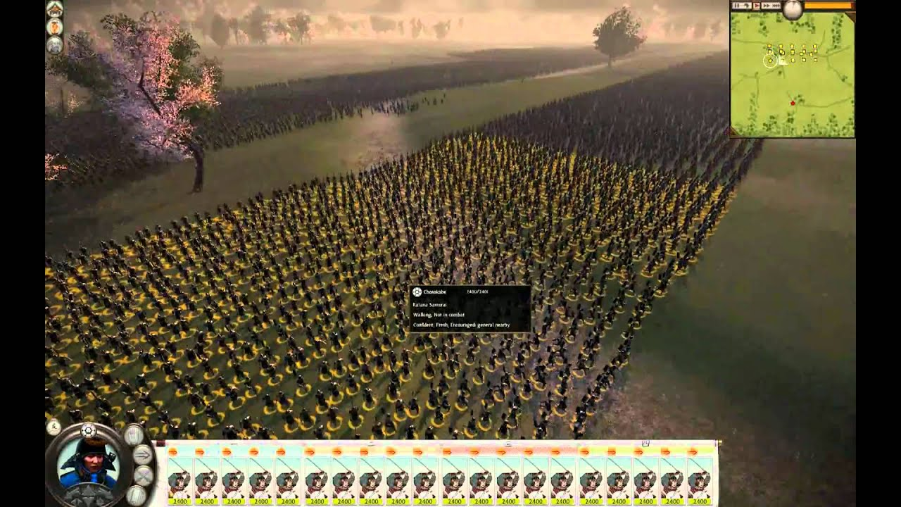 Biggest Total War Army Ever Shogun YouTube - Largest armies in the world