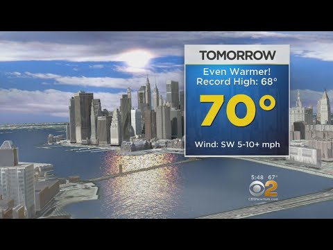 CBS2 5 p.m. Weather