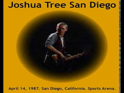 U2 - San Diego, USA 14-April-1987 (Full Concert With Enhanced Audio)