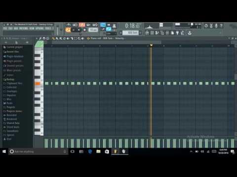 The Weeknd Ft Daft Punk - Starboy  FL Studio FLP Instrumental Part 1