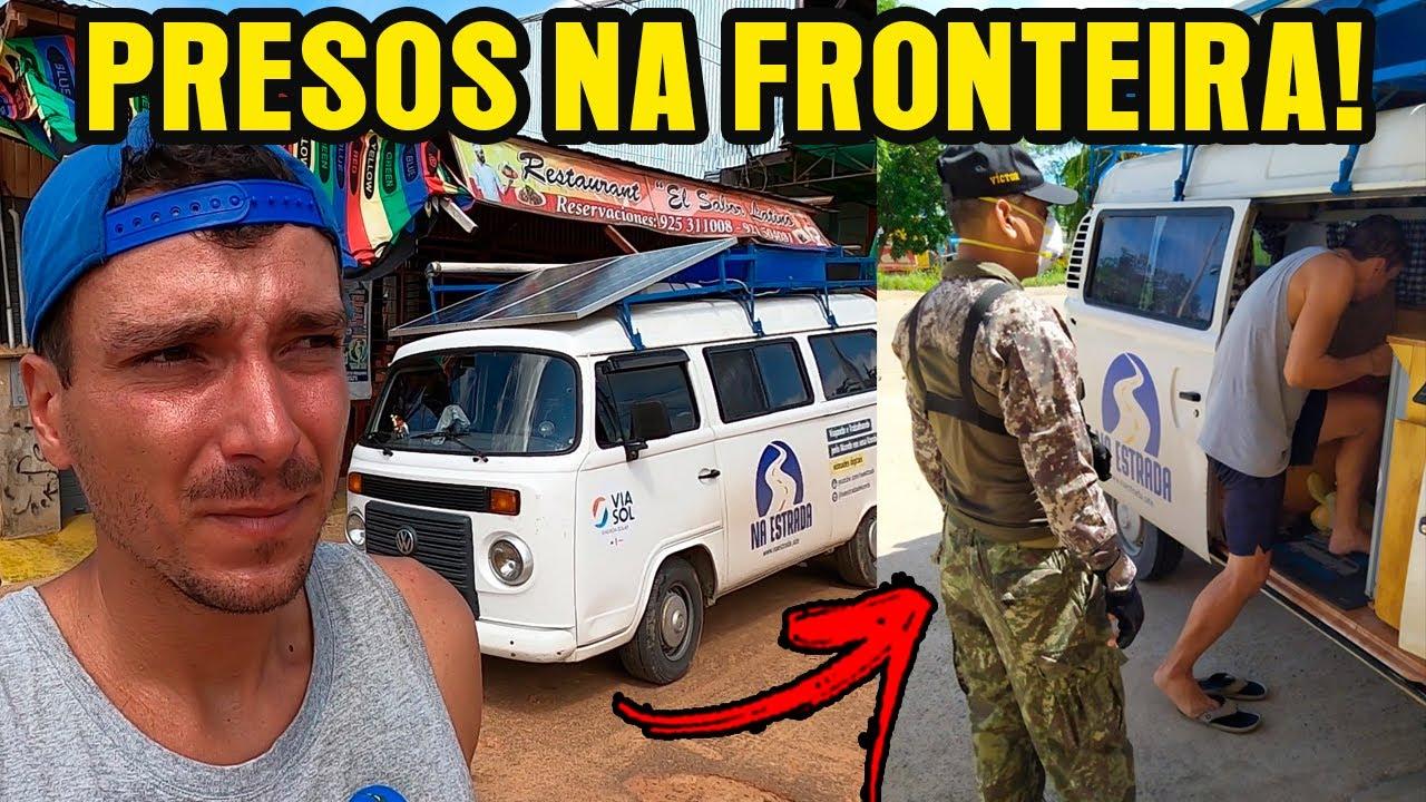 PRESOS NA FRONTEIRA DO PERU!