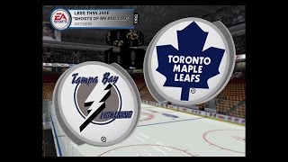 NHL 04 (PC): Tampa Bay at Toronto, Game 32
