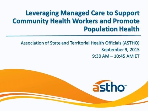 Leveraging Managed Care to Support Community Health Workers