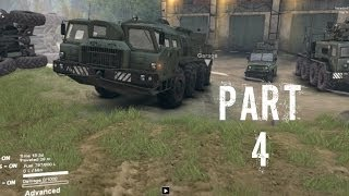 Spintires Gameplay Walkthrough Part 4 - Multiplayer Action (PC)