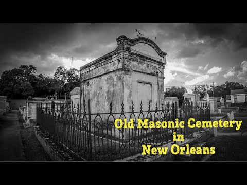 An Old Final Resting Place For Masons And Freemasons In New Orleans
