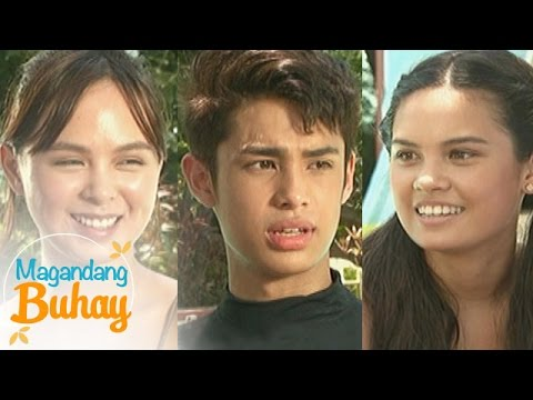 Magandang Buhay: How Kaila, Leila and Donny's families support them