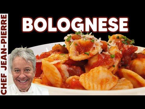 perfect-bolognese-sauce-with-orecchiette-pasta---chef-jean-pierre