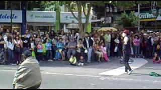 El mimo de Concepción, Chile 03-02-2010 part_1