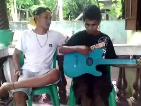 Rindu Terobati - Elfideo feat Martin Kurman ( great blind talent with guitar accoustic )