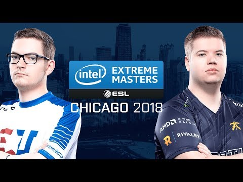 CS:GO - eUnited vs. Fnatic [Overpass] Map 1 - Group B - UB r2 - IEM Chicago 2018