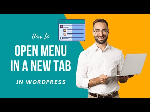 How to Make Specific WordPress Menu Open in a New Tab 2021