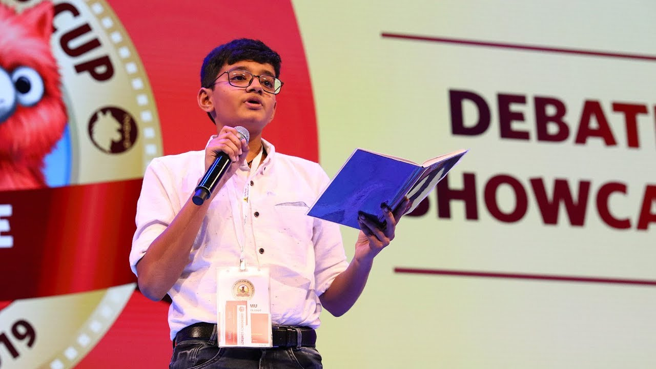 Download World Scholar's Cup The Hague Global Round 2019: Jr. Debate Showcase