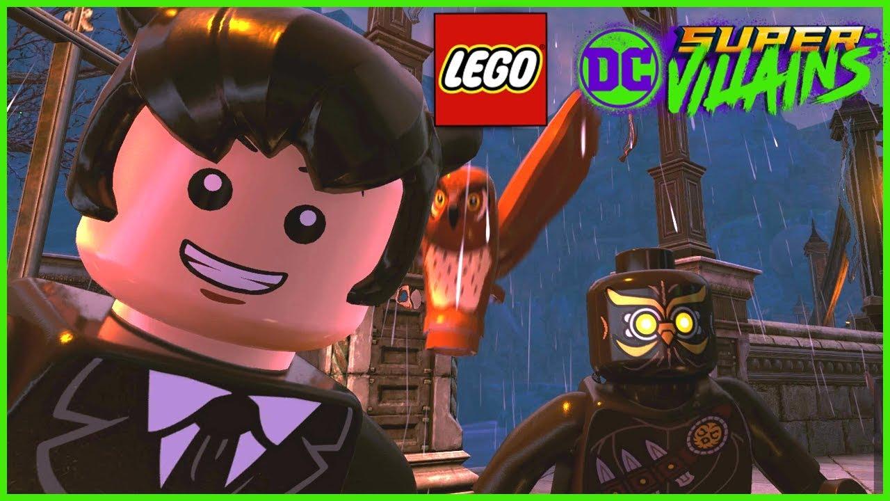 Lego Dc Super Villains Free Roam Part 3 China Town Gotham City Youtube