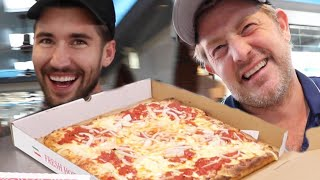 Download VISITING JEFF'S HOMETOWN FOR NEW YORK'S BEST PIZZA!! Mp3 and Videos
