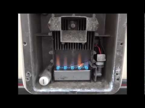 Carver Cascade 2 Water Heater in an Autosleeper Duetto